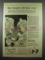 1941 Heinz Strained Tomato Soup Baby Food Ad