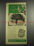 1941 Green Giant Niblets Corn Ad - Problem Child