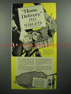 1943 Green Giant Niblets Corn Ad - Home Delivery