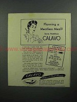 1943 Calavo Avacado Ad - Planning a Meatless Meal?