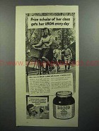 1944 Bosco Chocolate Syrup Ad - Prize Scholar