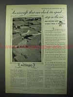 1931 Autogiro Aircraft Ad - Can Check its Speed