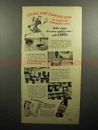 1947 Certo Pectin Ad - More Sugar This Year for Jam