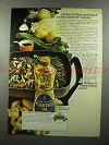 1973 Planters Oil Ad - Cooking Authentic Sukiyaki