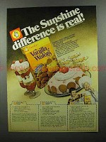 1978 Sunshine Vanilla Wafers Ad - Difference is Real!