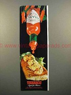 1982 Tabasco Pepper Sauce Advertisement - Aged for Flavor
