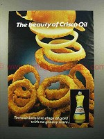1983 Crisco Oil Ad - Onion Rings - The Beauty