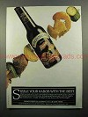 1985 French's Worcestershire Sauce Ad - Sizzle Kabob