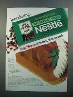 1986 Nestle Toll House Mint-Chocolate Morsels Ad