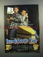 1999 Kraft Handi-Snacks Ad - We're Bound to Have Winner