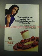 2000 Jell-o Cheesecake Snack Ad - Most Luscious Part