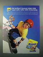 2001 Nestle Nesquik Ad - Really Strong Bones