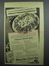 1944 Pillsbury Best Enriched Flour Ad - Relish Ring