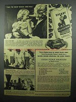1944 Sperry Drifted Snow Flour Ad - Fudge Brownies