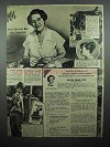 1945 Sperry Drifted Snow Flour Ad - Fruited Pound Cake