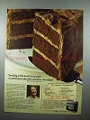 1980 Hershey's Cocoa Ad - Mrs. Johnson's Chocolate Cake