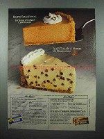 1986 Nestle's Chocolate Ad - No-Bake Cheesecakes