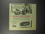 1944 Rockwood's Chocolate Bits Ad - So Easy
