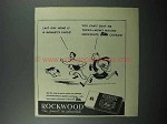 1945 Rockwood's Chocolate Bits Ad - Monkey's Uncle