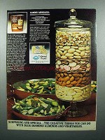 1980 Blue Diamond Almonds Ad - Almond Asparagus