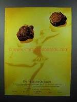 1996 Godiva Chocolate Ad - One for me, and One for me