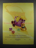 2000 Godiva Chocolate Ad - The Chick or the Egg