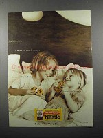 2000 Nestle's Chocolate Ad - Each Cookie Timelessness