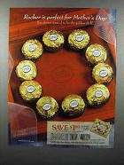 2001 Ferrero Rocher Chocolate Ad - Perfect Mother's Day