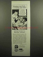 1953 Postum Coffee Substitute Drink Ad - Sleeping Best