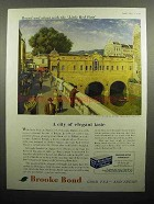 1959 Brooke Bond Tea Ad - A City of Elegant Taste