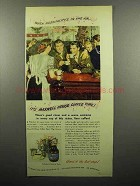 1945 Maxwell House Coffee Ad - Hospitality's in The Air