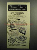 1936 Kraft Old English, Philadelphia Cream Cheese Ad