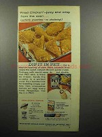 1959 Pet Evaporated Milk Ad - Fried Chicken