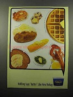 2000 Kraft Parkay Margarine Ad - Nothing Says Butter