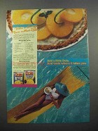 1986 Dole Pineapple Ad - Mellow Mai Tai Pie