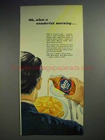 1952 Karo Syrup Ad - Oh, What a Wonderful Morning