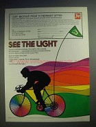 1973 7up Soda Ad - See The Light