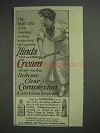 1913 Hinds Cream Ad - Cleaning, Healing, Invigorating