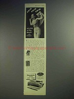 1944 Tampax Tampon Ad - Swim Any Day of the Month