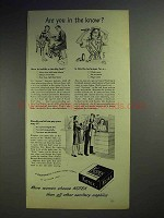 1946 Kotex Sanitary Napkins Advertisement - Are you In The Know?
