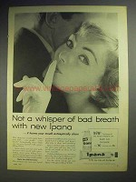 1959 Ipana Toothpaste Ad - Not a Whisper of Bad Breath