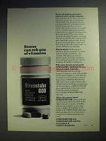 1978 Stresstabs 600 Vitamins Ad - Stress Can Rob You