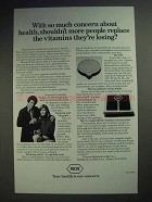 1978 Roche Pharmaceutical Ad - Replace Vitamins