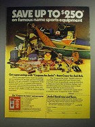 1979 Cruex Spray-on-Powder Ad - Save up to $250