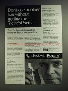 1993 Rogaine Hair Loss Treatment Ad - Medical Facts