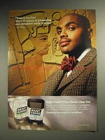 1995 Right Guard Deodorant Ad - Charles Barkley