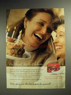 1997 Poise Pads Ad - Go Ahead. Really Celebrate