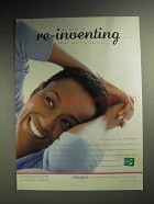 2000 Always Pads Ad - My Body is Re-inventing Itself