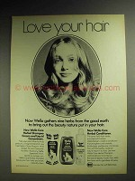 1972 Wella Care Herbal Shampoo, Conditioner Ad