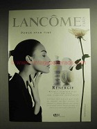 1997 Lancome Renergie Anti-Wrinkle Treatment Ad